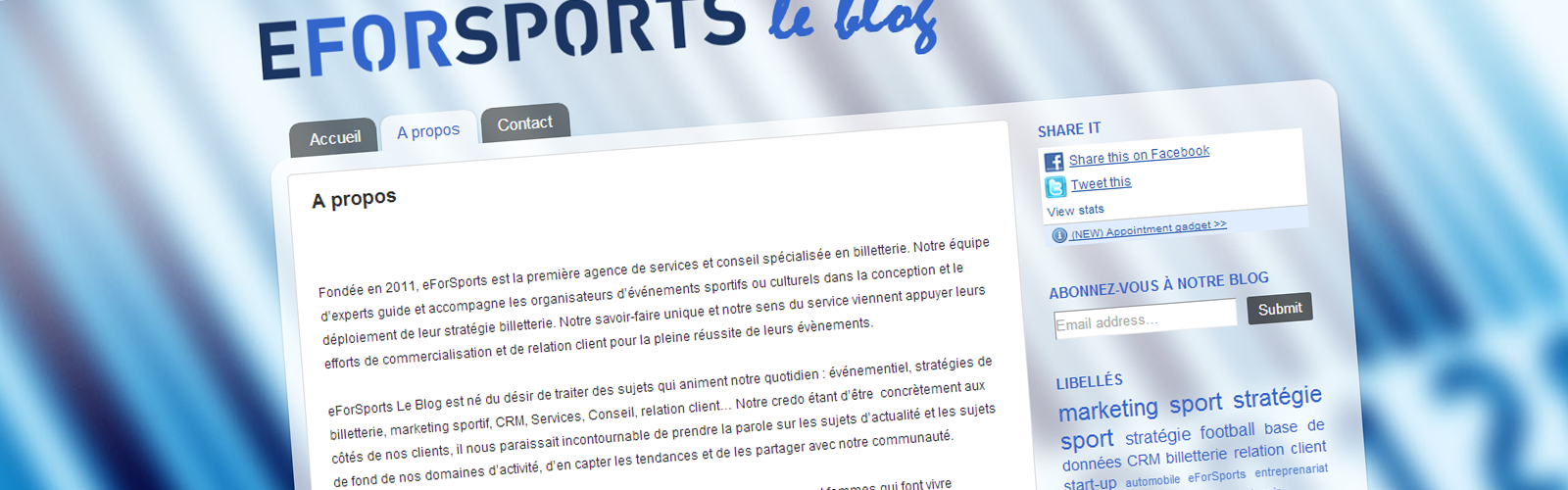 eForsport-blog